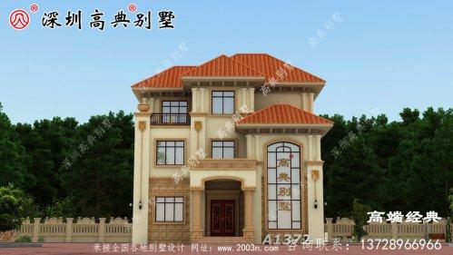 乡下三层最简单的小楼,大户型设