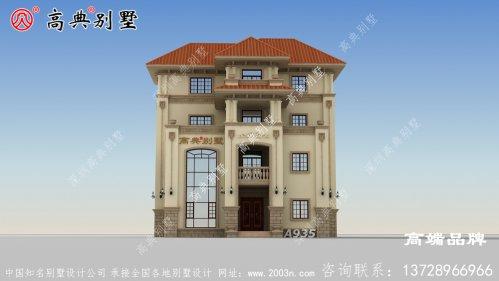 多面窗设计使别墅的室内采光更加