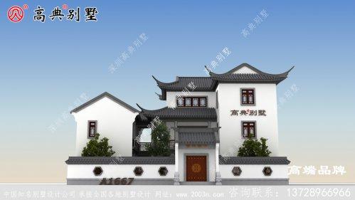 中式经典黑白配素雅别致,无过多