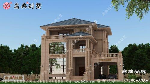 一款南北方都适合建造的别墅非欧