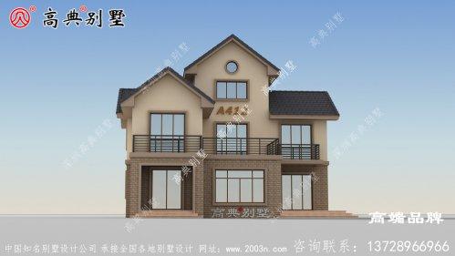 屋顶采用传统坡屋顶,更具层次感