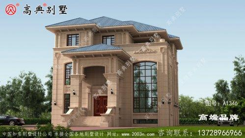 外墙采用豪华石材装饰经典不过时