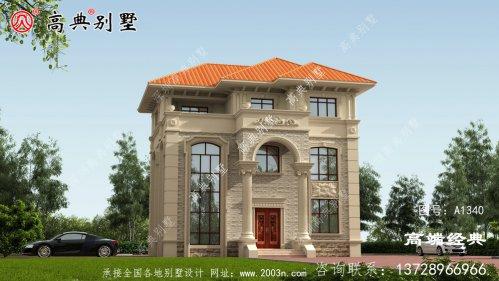简欧复式三层别墅,经济又美观,