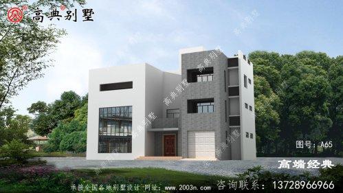 大户型现代风格三层别墅,增大更